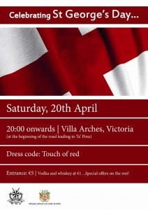 celebrating st georges day 2013