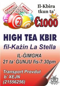 high tea 21 june