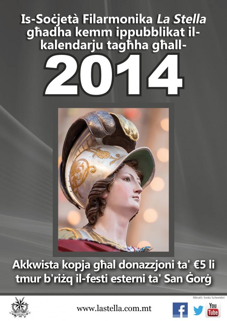 Calendar 2014 Sale