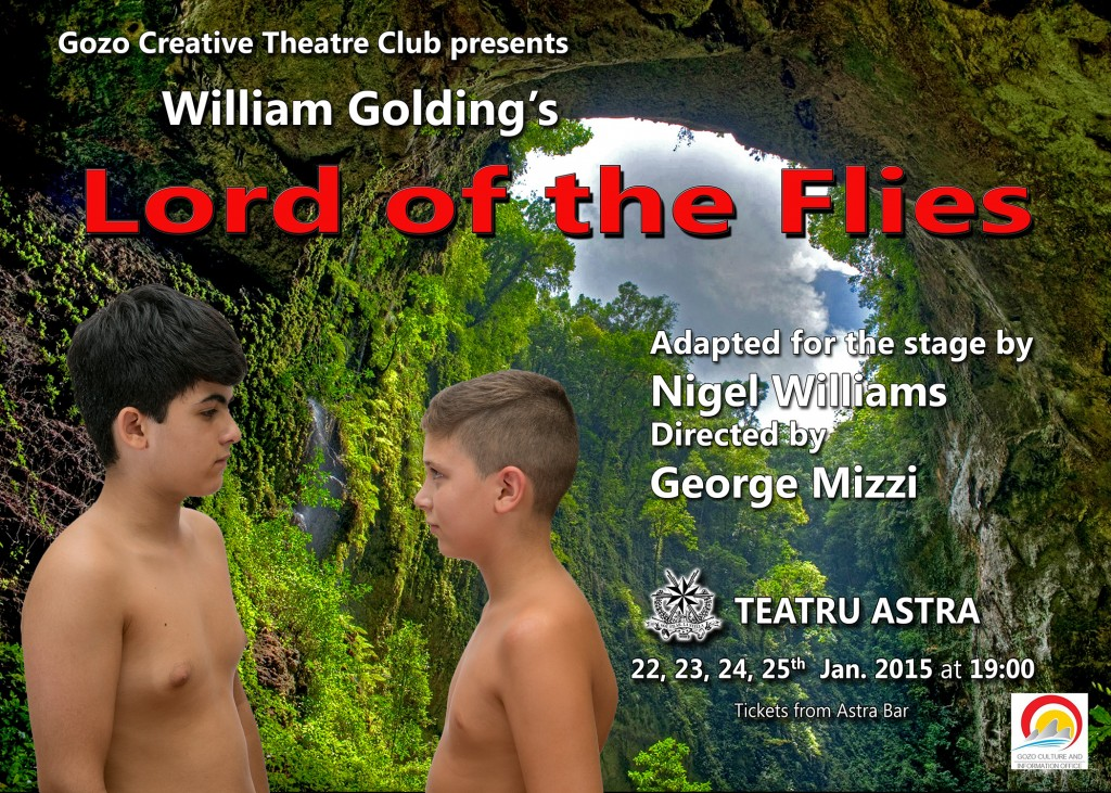 LORD OF THE FLIES POSTER-2 5x7