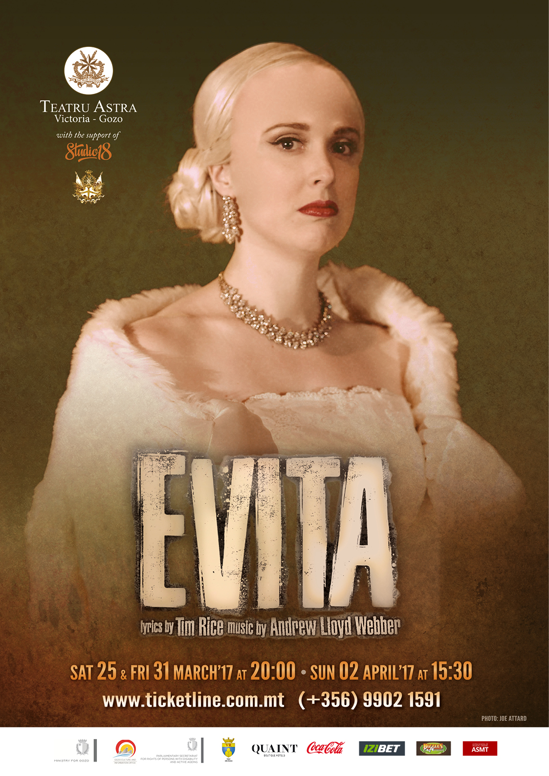 A3 Poster Evita - Cathy