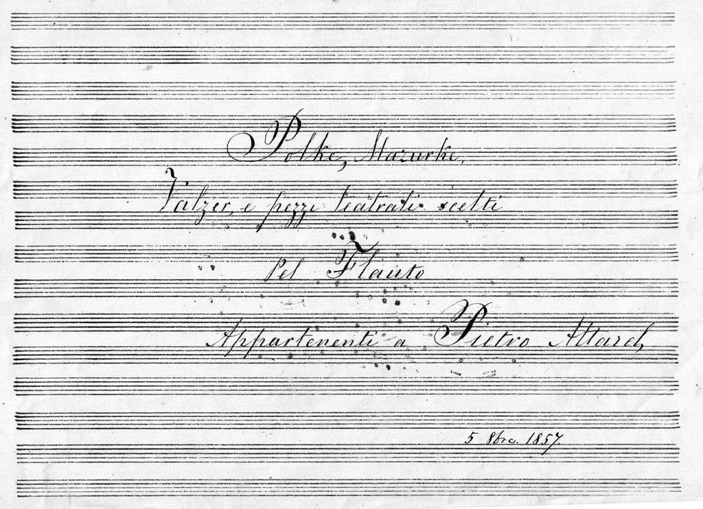 1857 Pel Flauto