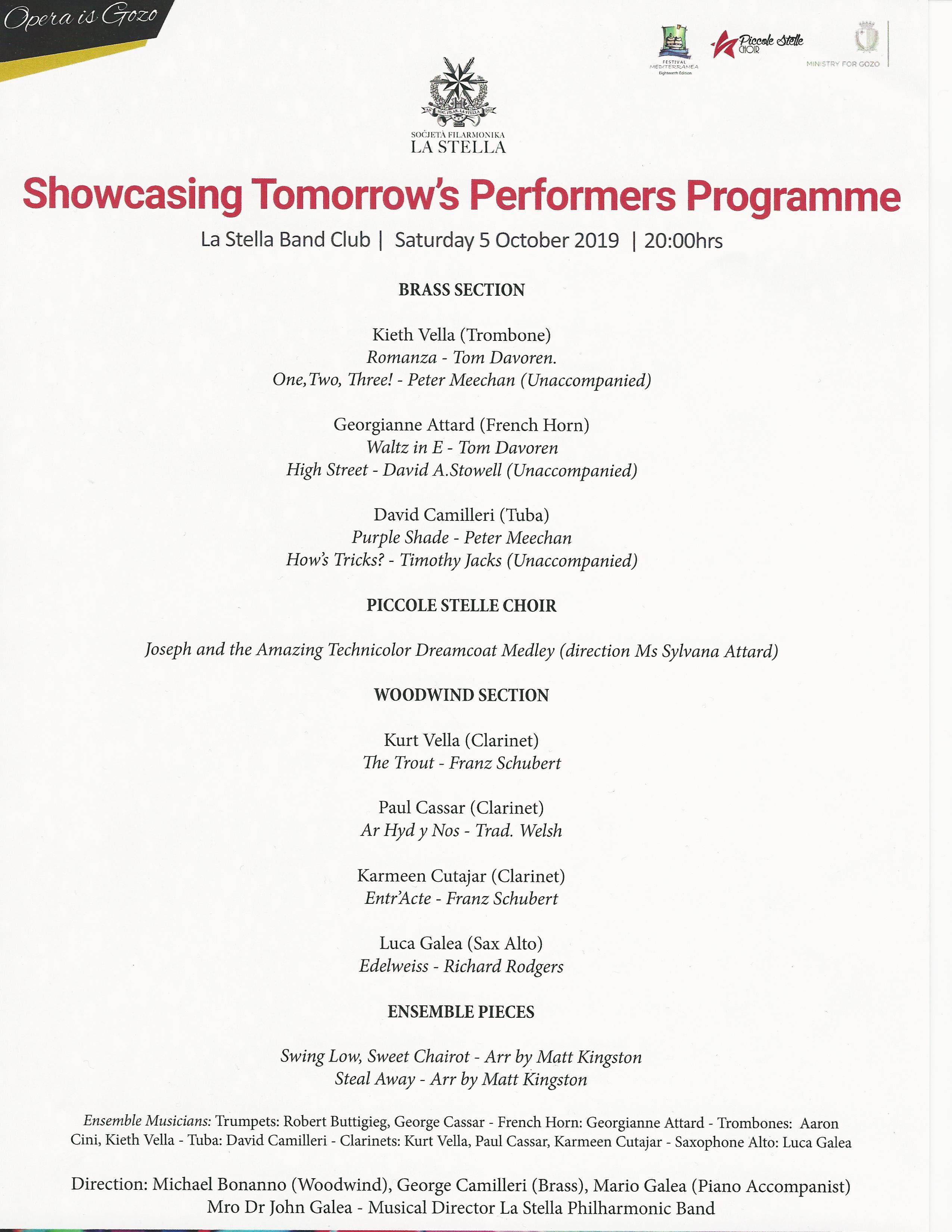 Showcasing tomorrow's performers programme 05.10.2019.jpg